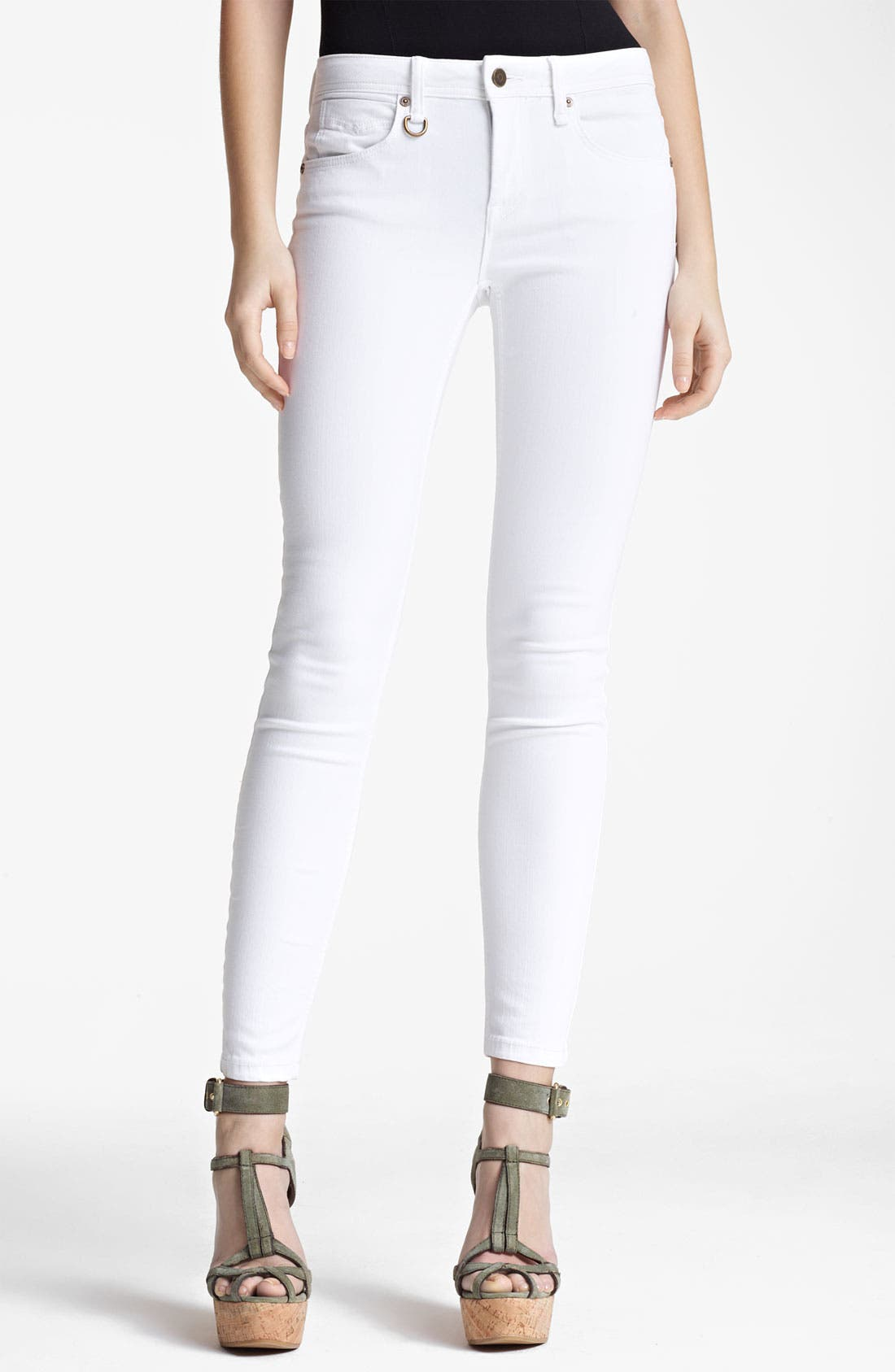 Alternate Image 1 Selected - Burberry Brit 'Westbourne' Skinny Leg Jeans