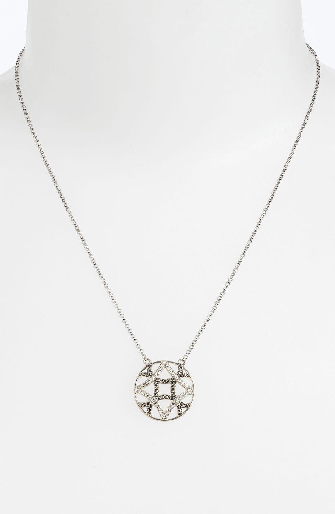 Alternate Image 1 Selected - Judith Jack 'Turq Matrix' Pendant Necklace