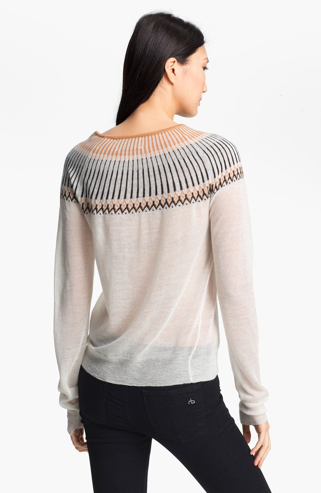 Alternate Image 2  - A.L.C. 'Franco' Crewneck Sweater