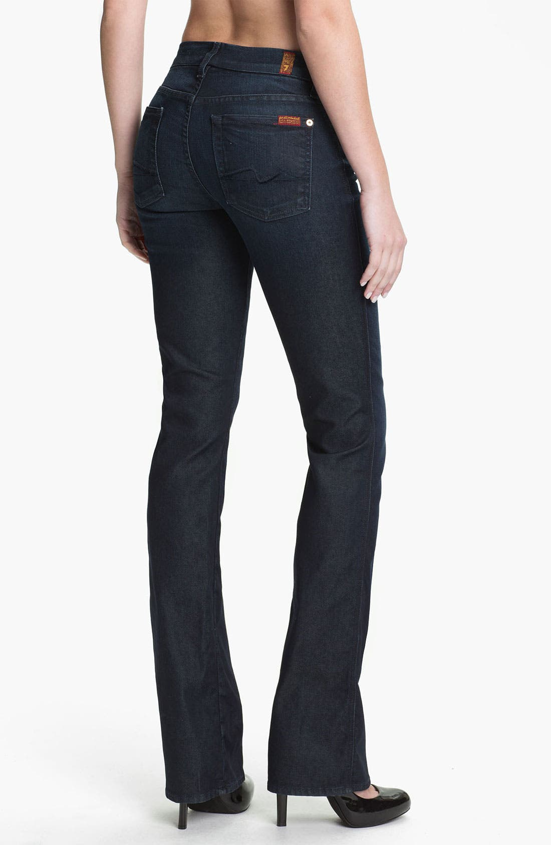 Alternate Image 2  - 7 For All Mankind® 'Kimmie' Bootcut Jeans (Reflective Night Star)
