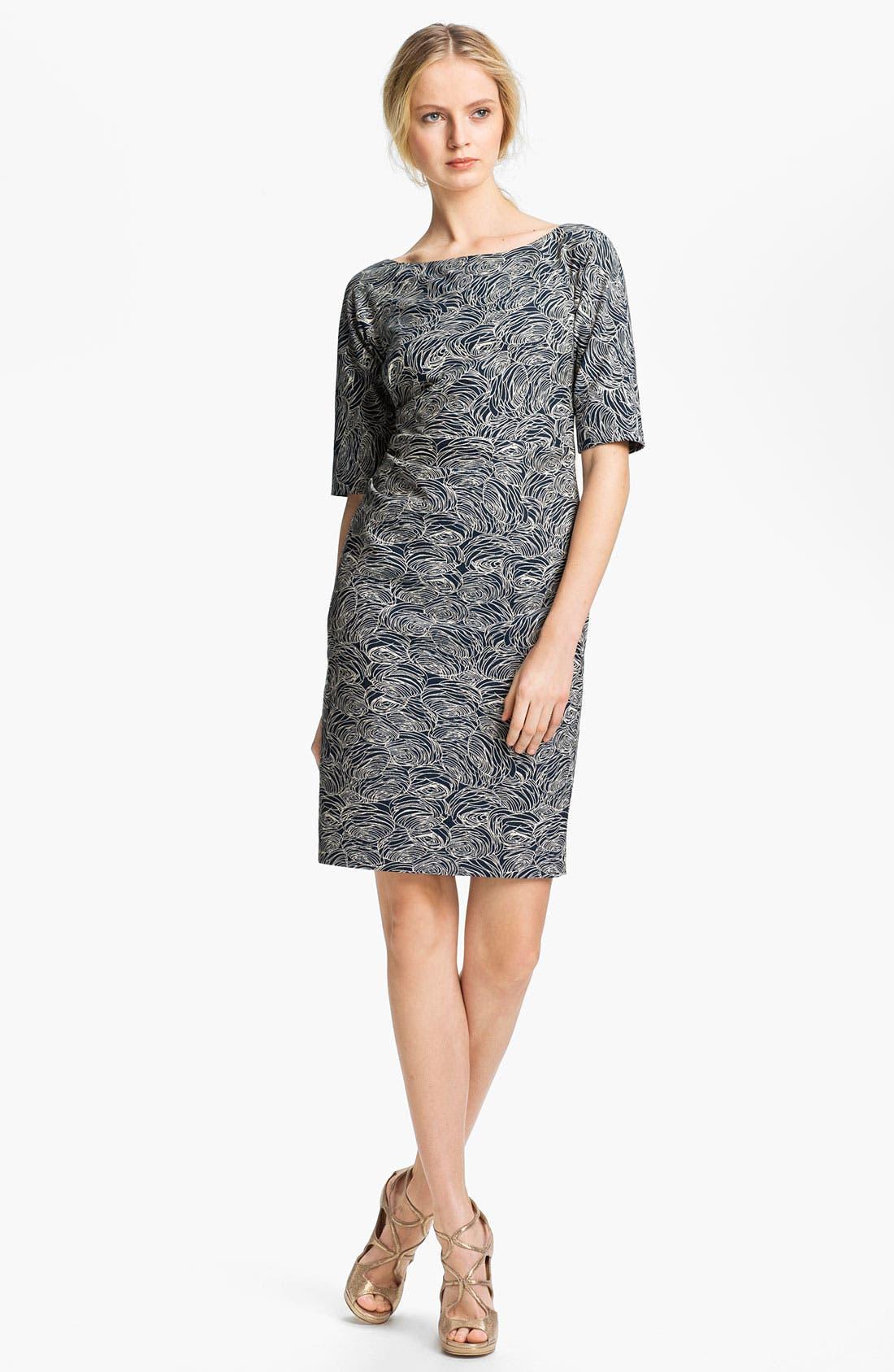 Main Image - Lela Rose Print Sheath Dress