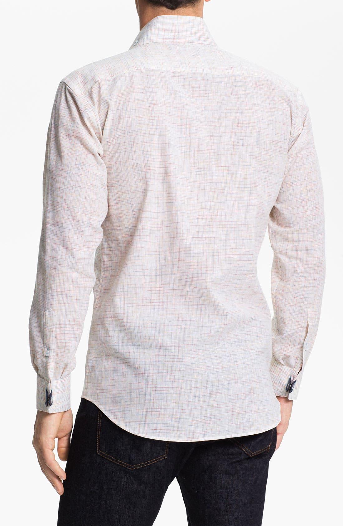 Alternate Image 2  - Bogosse 'Matis 87' Trim Fit Sport Shirt