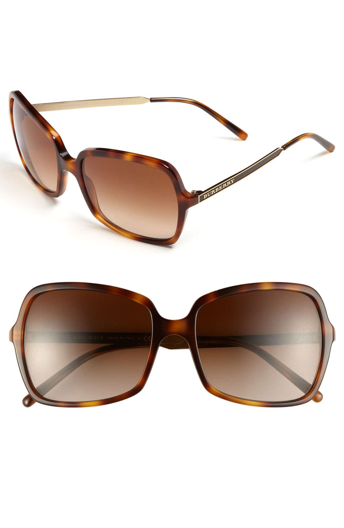 Alternate Image 1 Selected - Burberry Butterfly 57mm Sunglasses