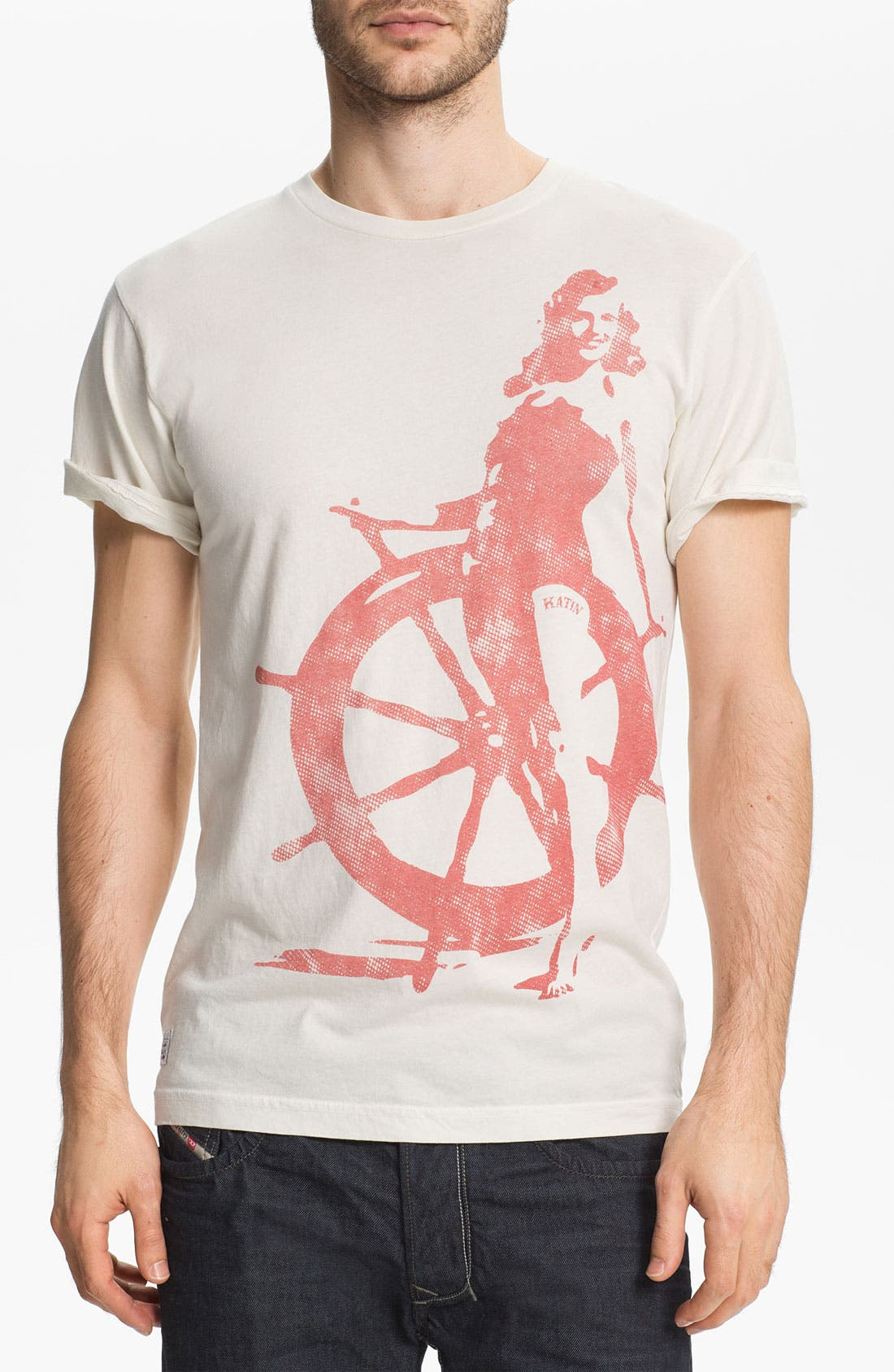 Alternate Image 1 Selected - Katin 'Wench' Graphic T-Shirt