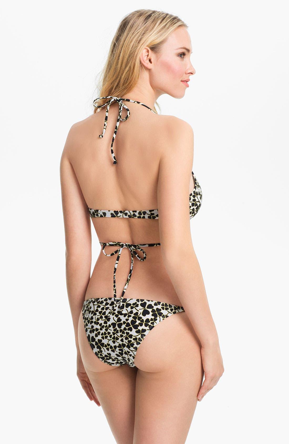 Alternate Image 4  - 'DVF Loves Roxy - Binded Surfer' Bikini Bottoms