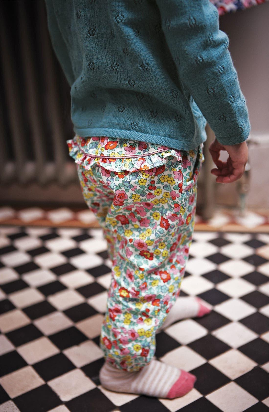 Alternate Image 2  - Mini Boden 'Pretty' Pants (Baby)