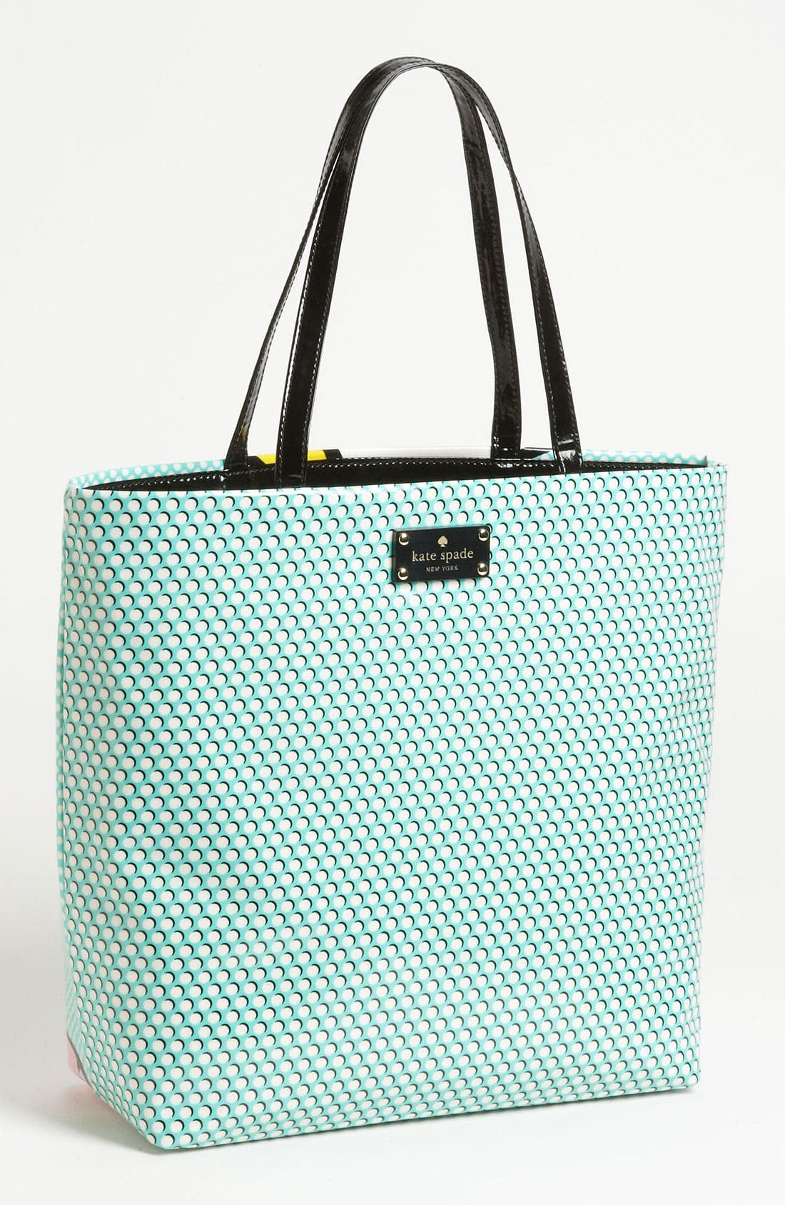 Alternate Image 4  - kate spade new york 'daycation' coated canvas bon shopper