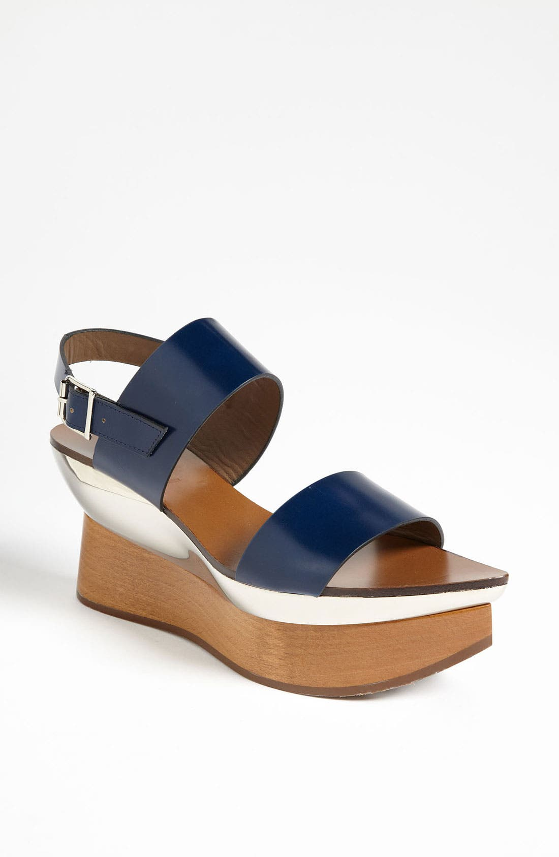 Alternate Image 1 Selected - Marni Double Band Wedge Sandal