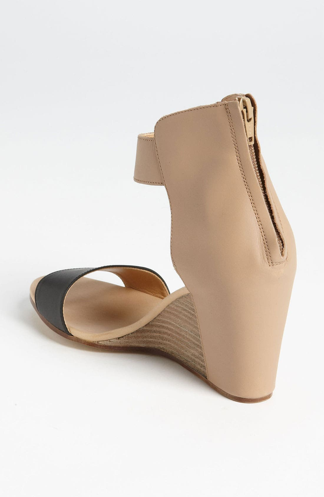 Alternate Image 2  - MM6 Maison Margiela Two Tone Wedge Sandal