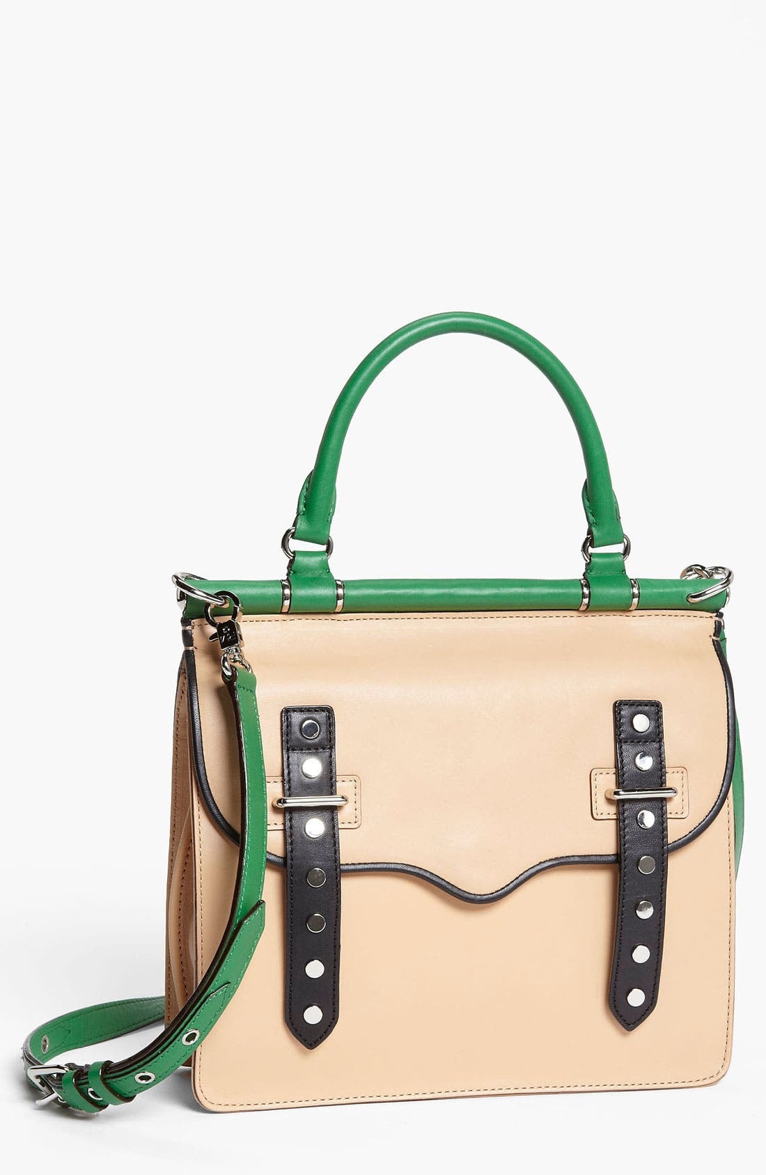 Main Image - Rebecca Minkoff 'Brett' Colorblock Satchel