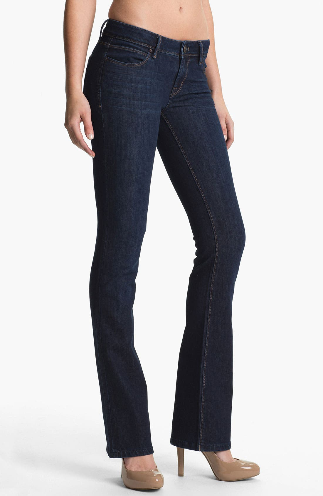 Alternate Image 1 Selected - DL1961 'Cindy' Slim Boot Jeans (Sonic)