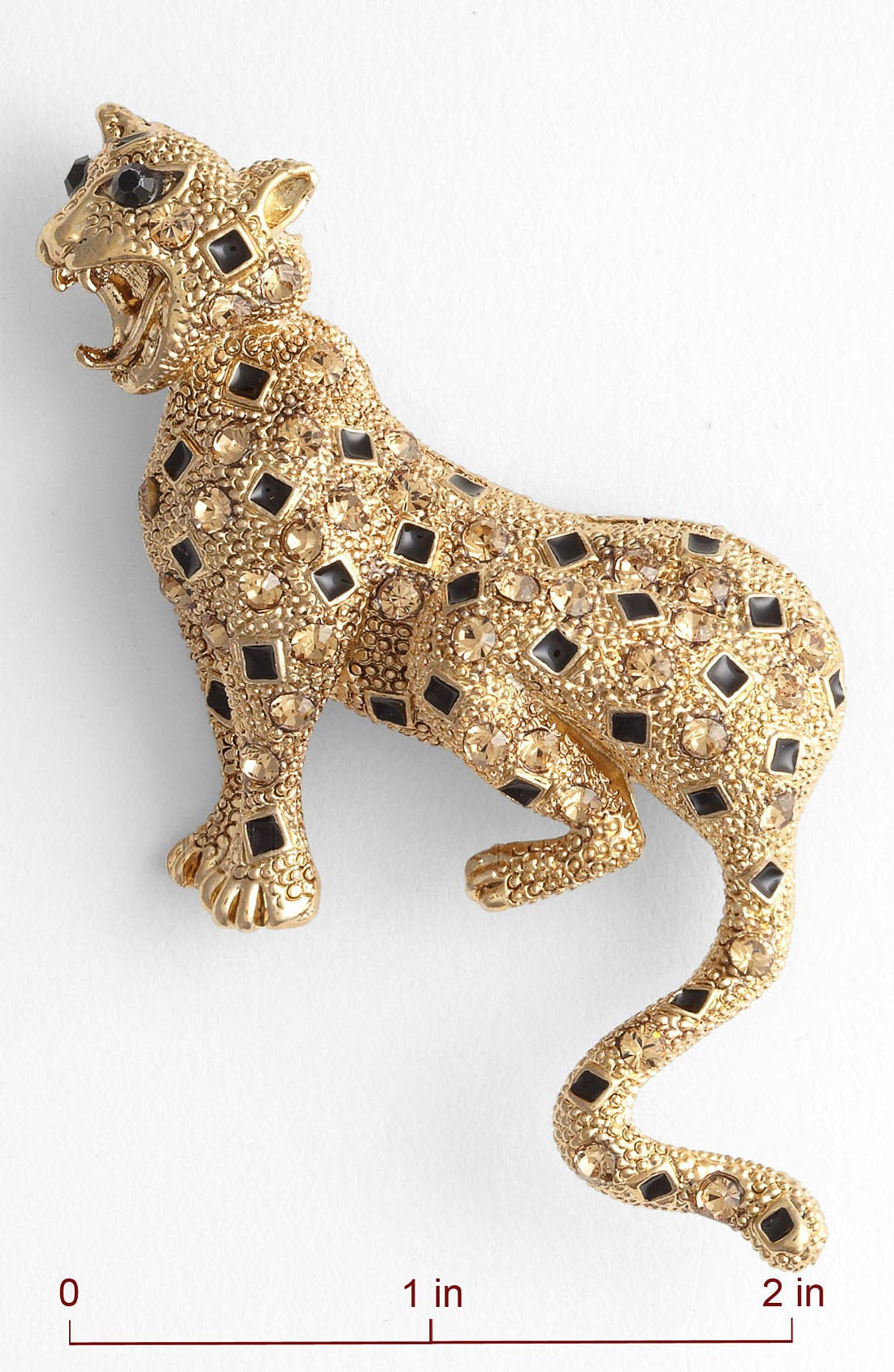 Alternate Image 2  - Tasha 'Critters' Panther Brooch