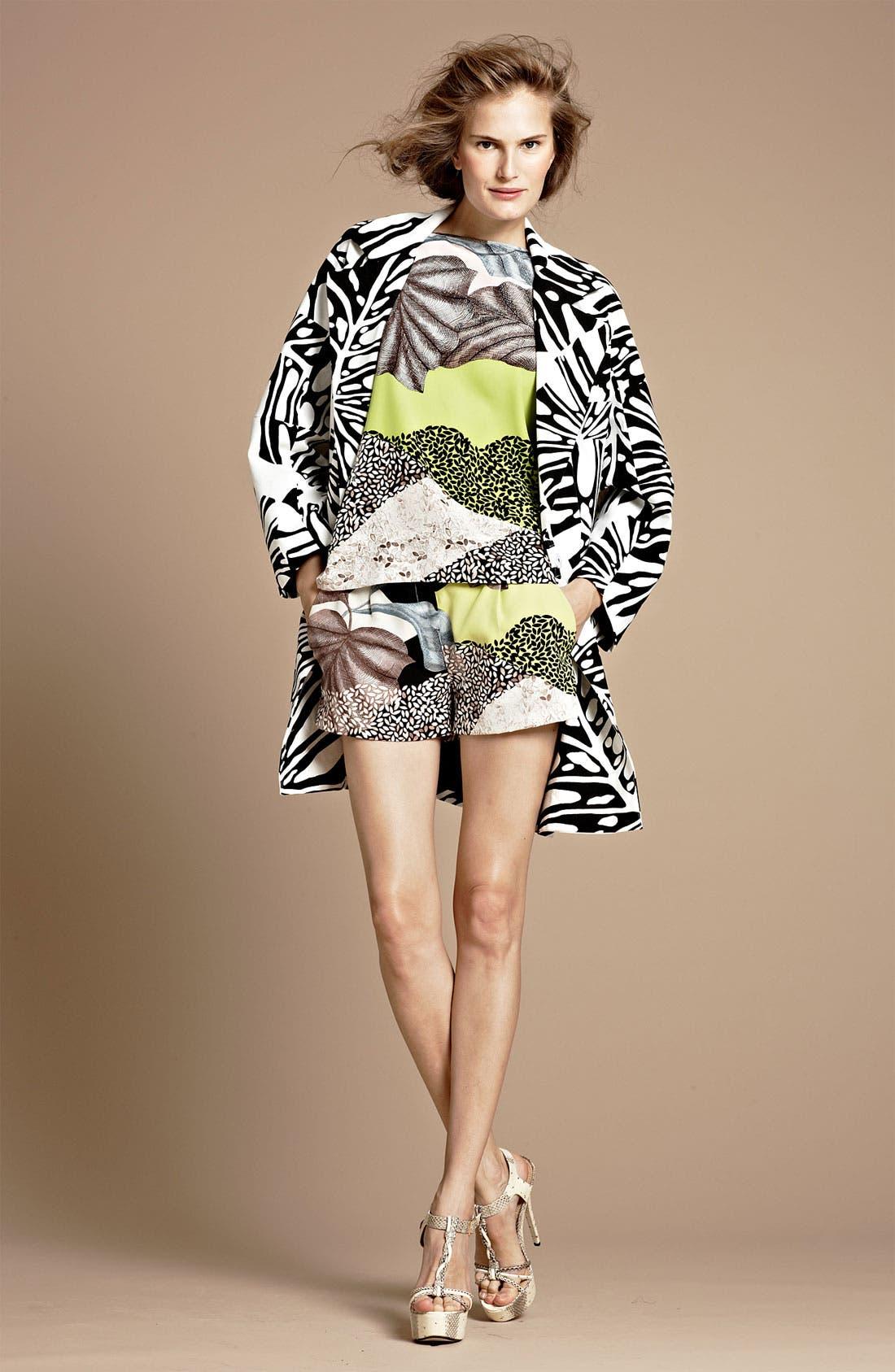 Alternate Image 4  - Diane von Furstenberg 'Naples' Silk Shorts