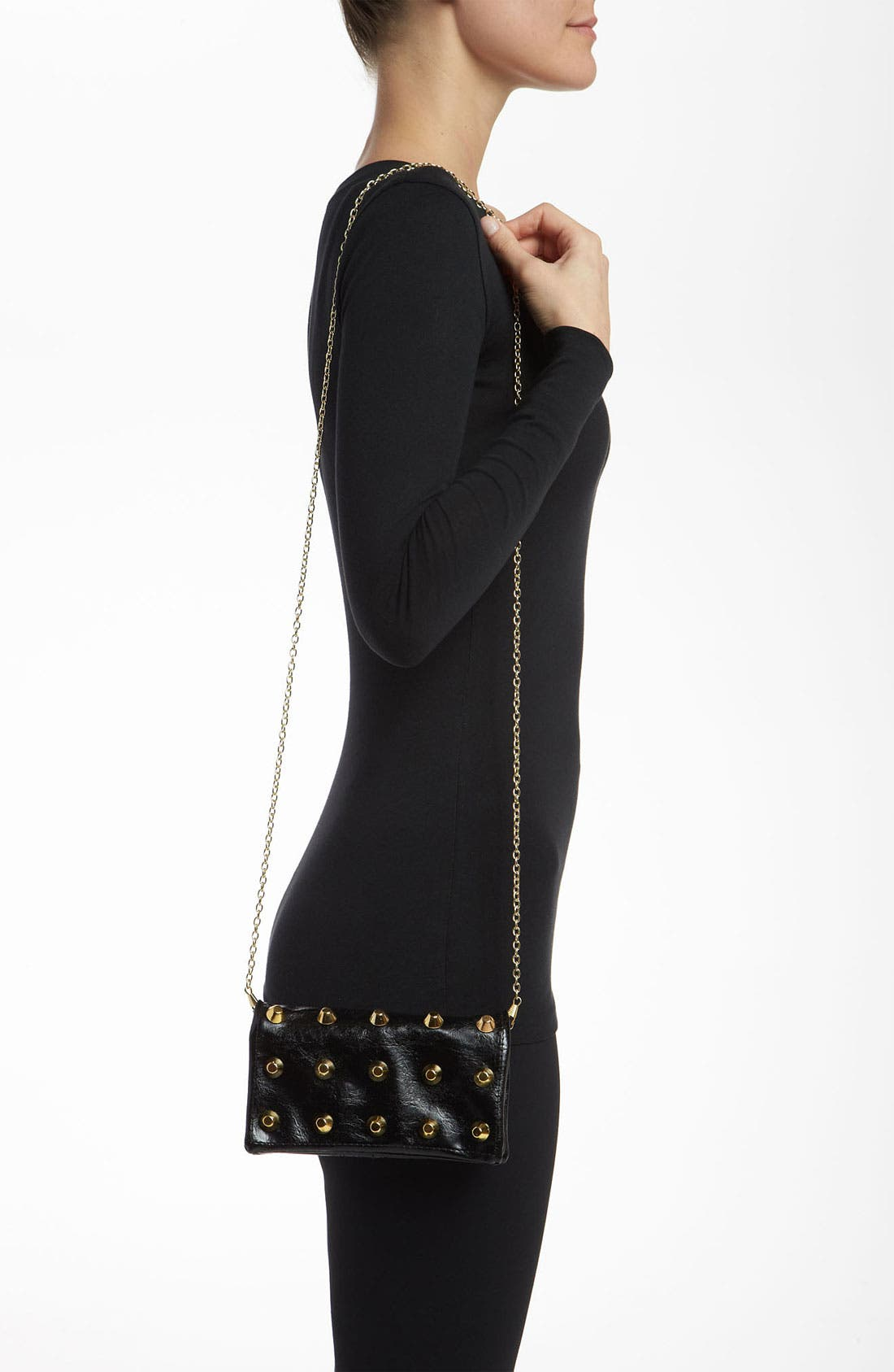 Alternate Image 2  - Under One Sky Studded Convertible Clutch