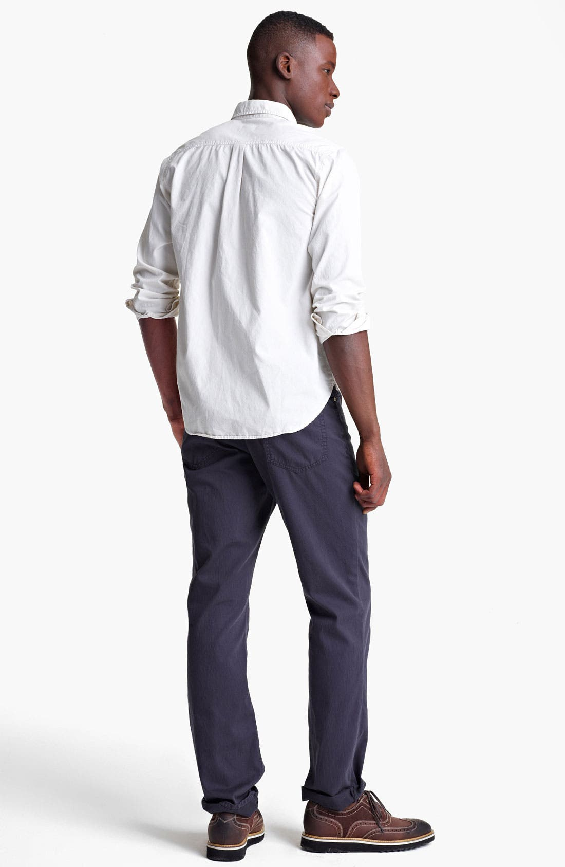 Alternate Image 5  - Grayers Trim Fit Sport Shirt