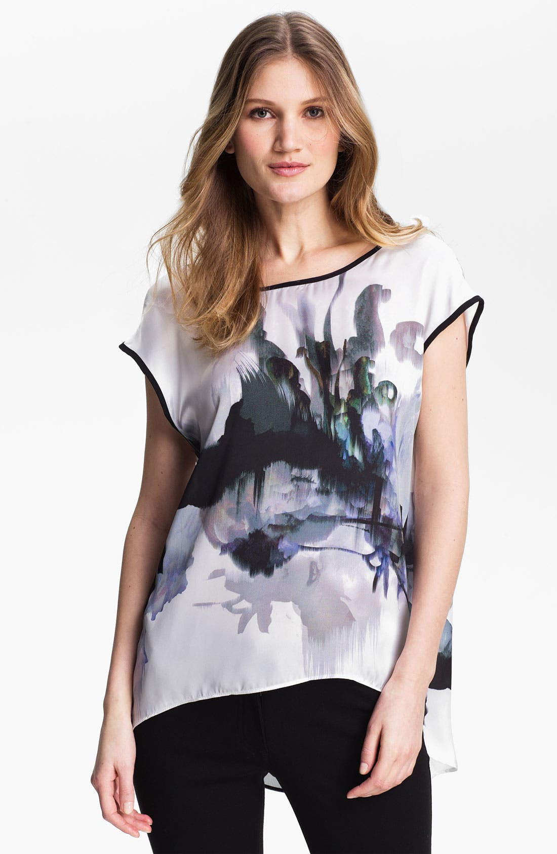 Alternate Image 1 Selected - Kay Celine 'Ink Blot' V-Back Tunic