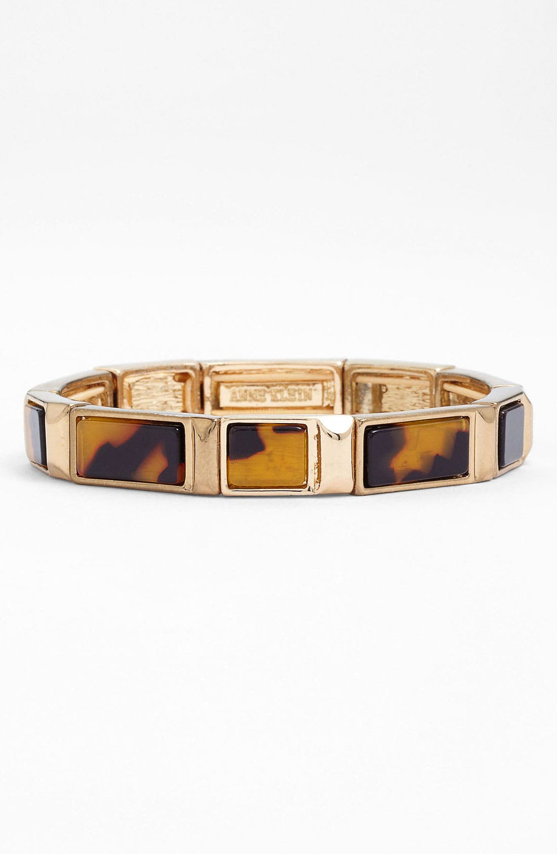 Alternate Image 1 Selected - Anne Klein 'Ridley' Stretch Bracelet
