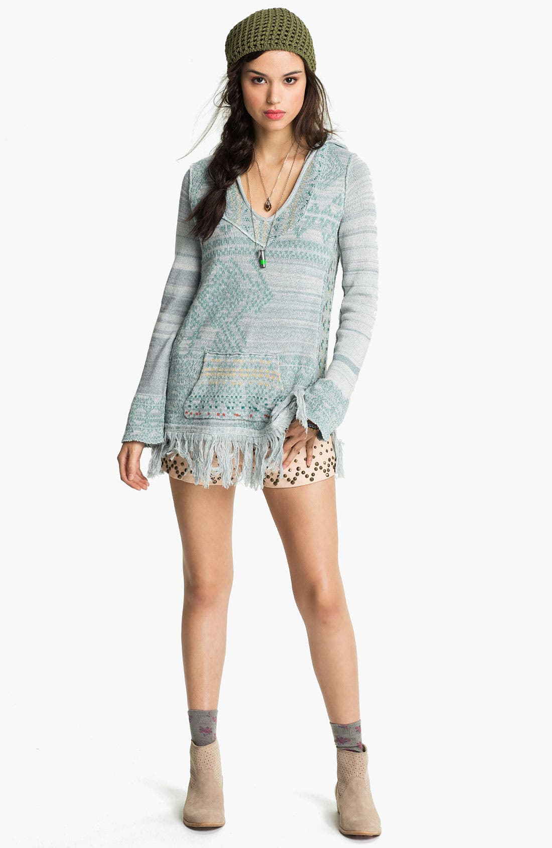 Alternate Image 1 Selected - Free People 'Dream Time Story' Baja Pullover