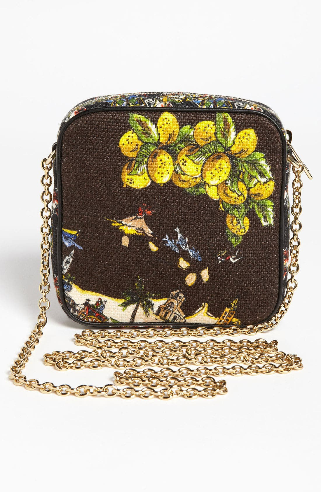 Alternate Image 4  - Dolce&Gabbana 'Miss Glam - Sicily' Crossbody Bag
