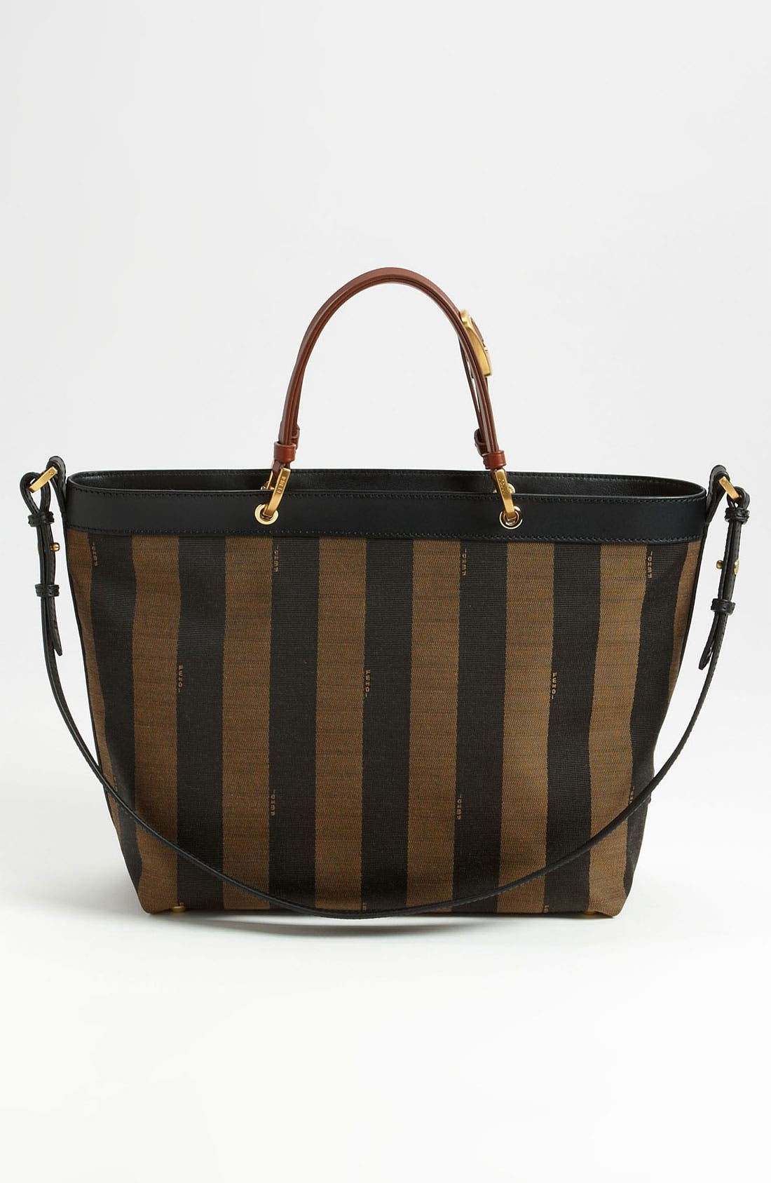 Alternate Image 4  - Fendi 'Pequin - Large' Shoulder Bag