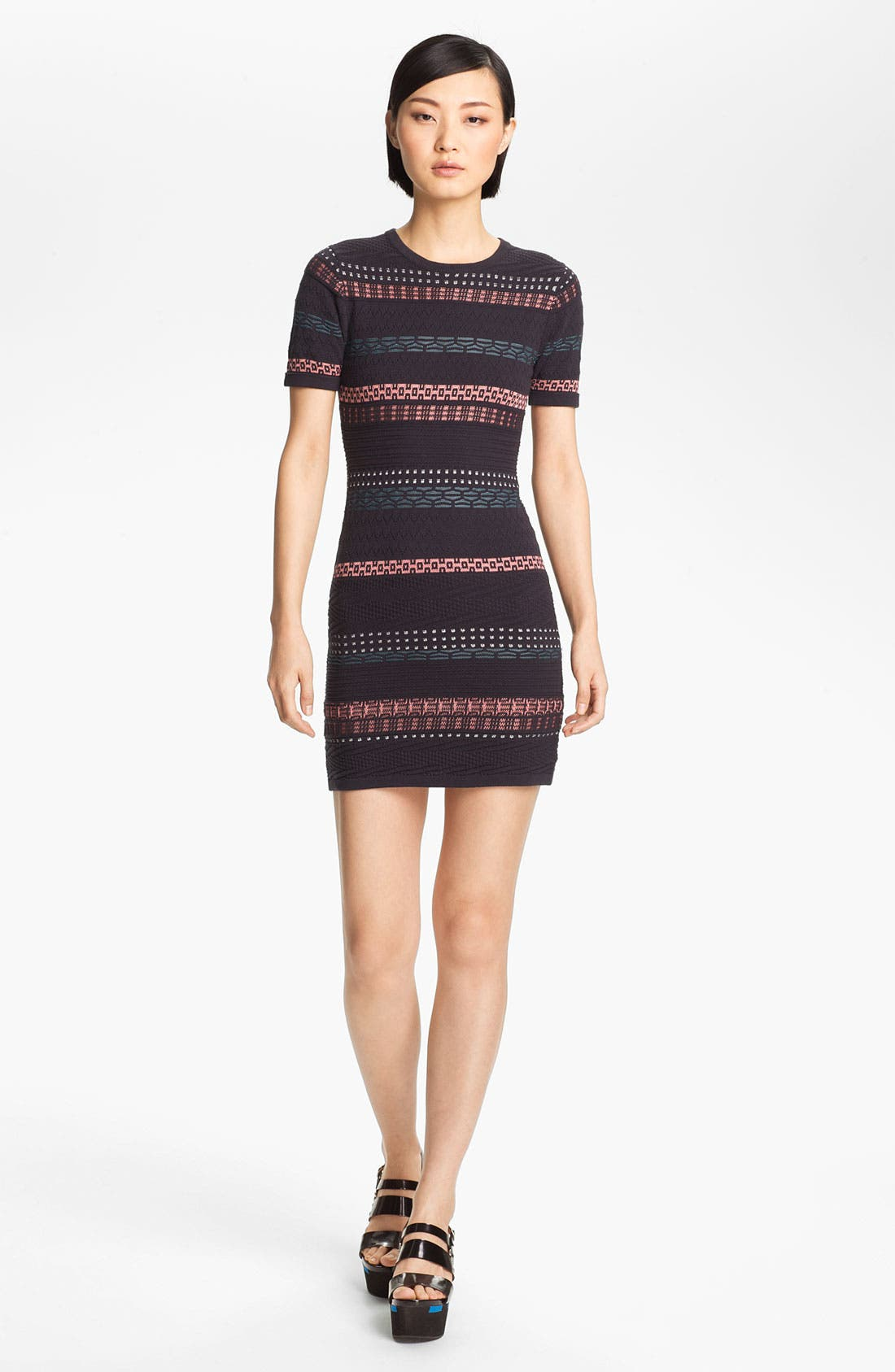 Alternate Image 1 Selected - Opening Ceremony 'Hollis' Stripe Knit Dress