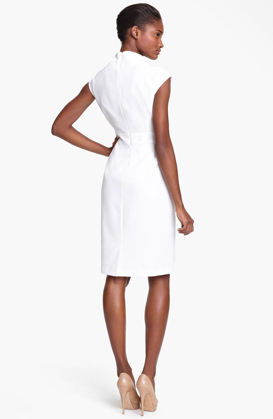 Alternate Image 2  - Max Mara 'Alais' Belted Crepe Dress