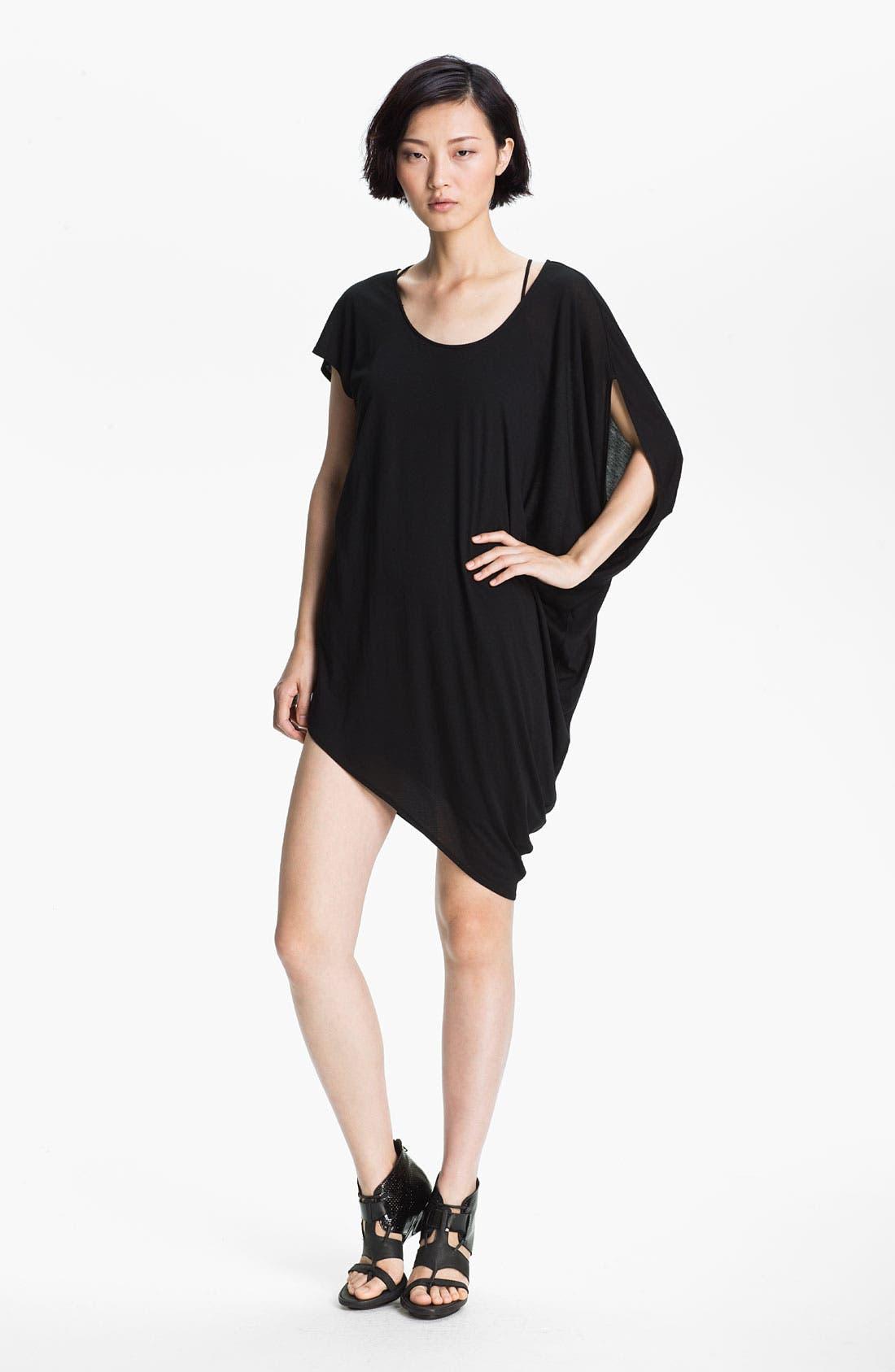 Alternate Image 1 Selected - HELMUT Helmut Lang 'Kinetic' Asymmetrical Jersey Dress