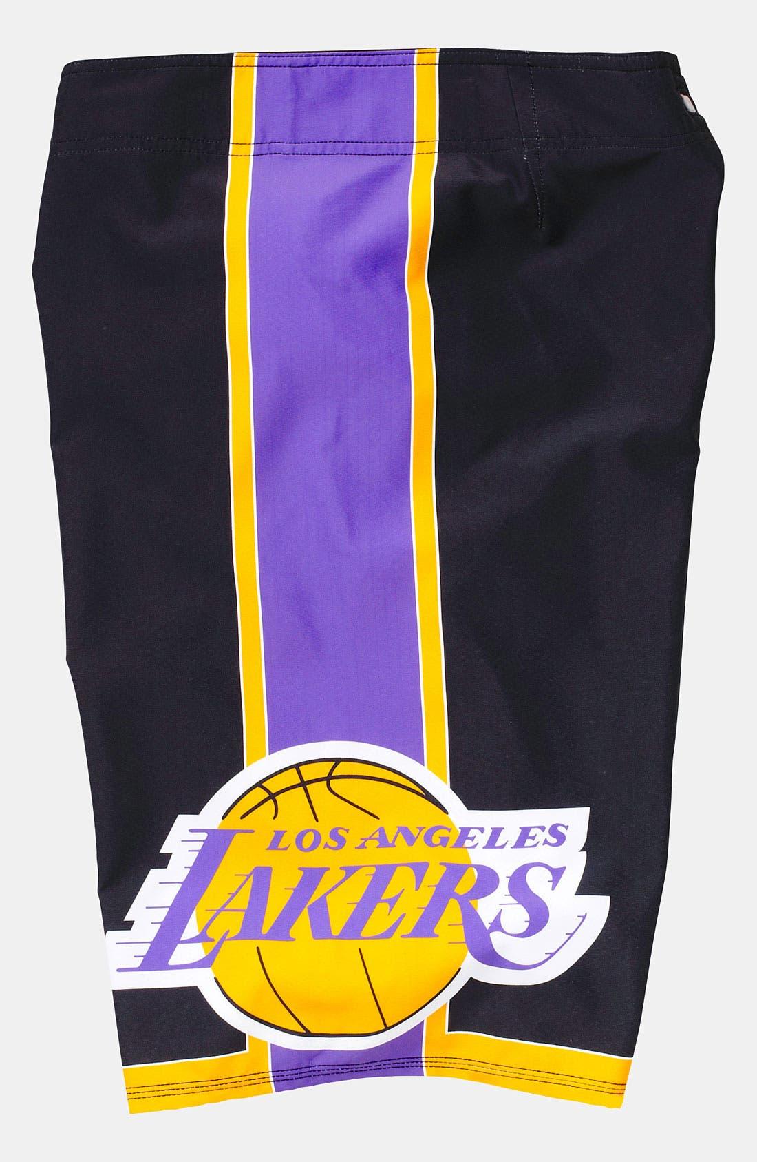Alternate Image 3  - Quiksilver 'Lakers' Board Shorts (Big Boys)
