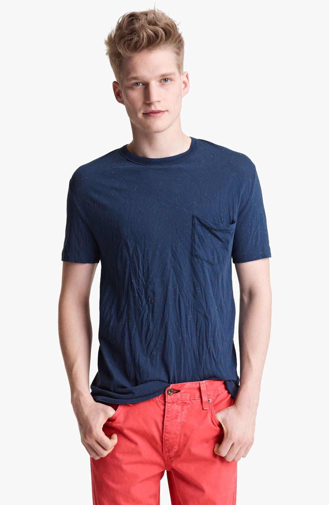 Alternate Image 1 Selected - rag & bone 'Confetti' Pocket T-Shirt