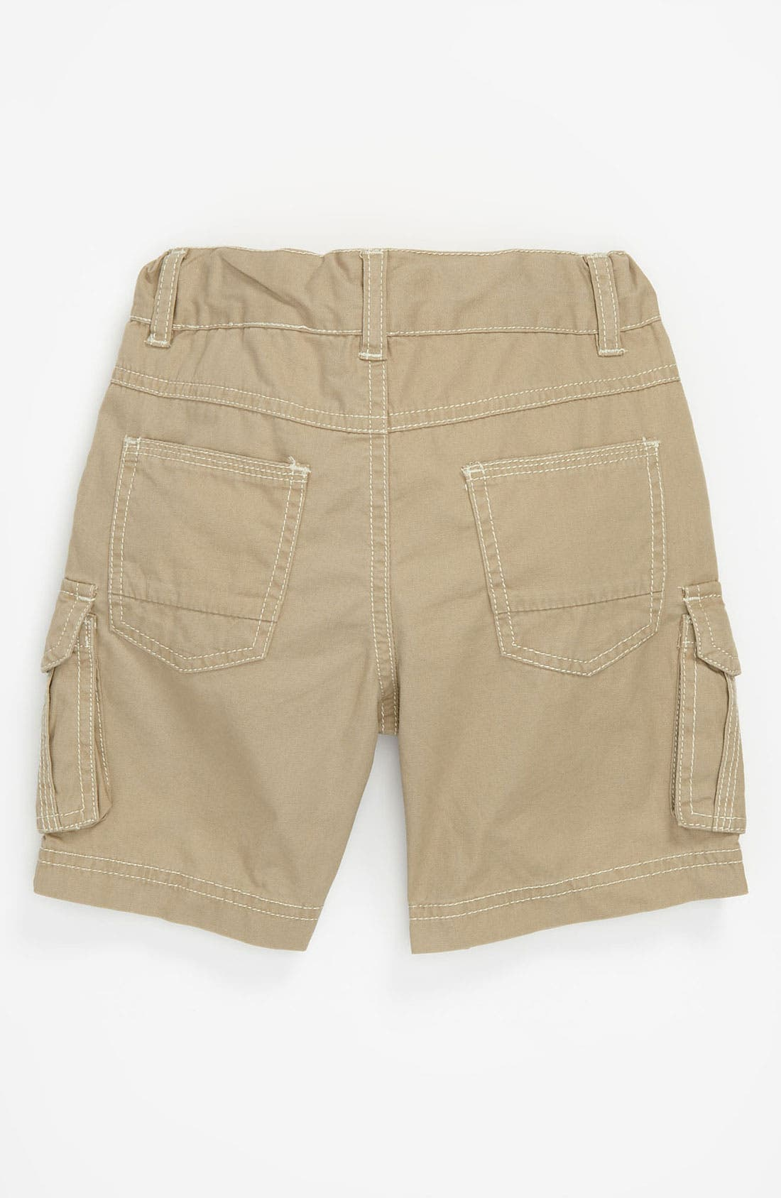 Alternate Image 2  - Pumpkin Patch Canvas Cargo Shorts (Toddler)