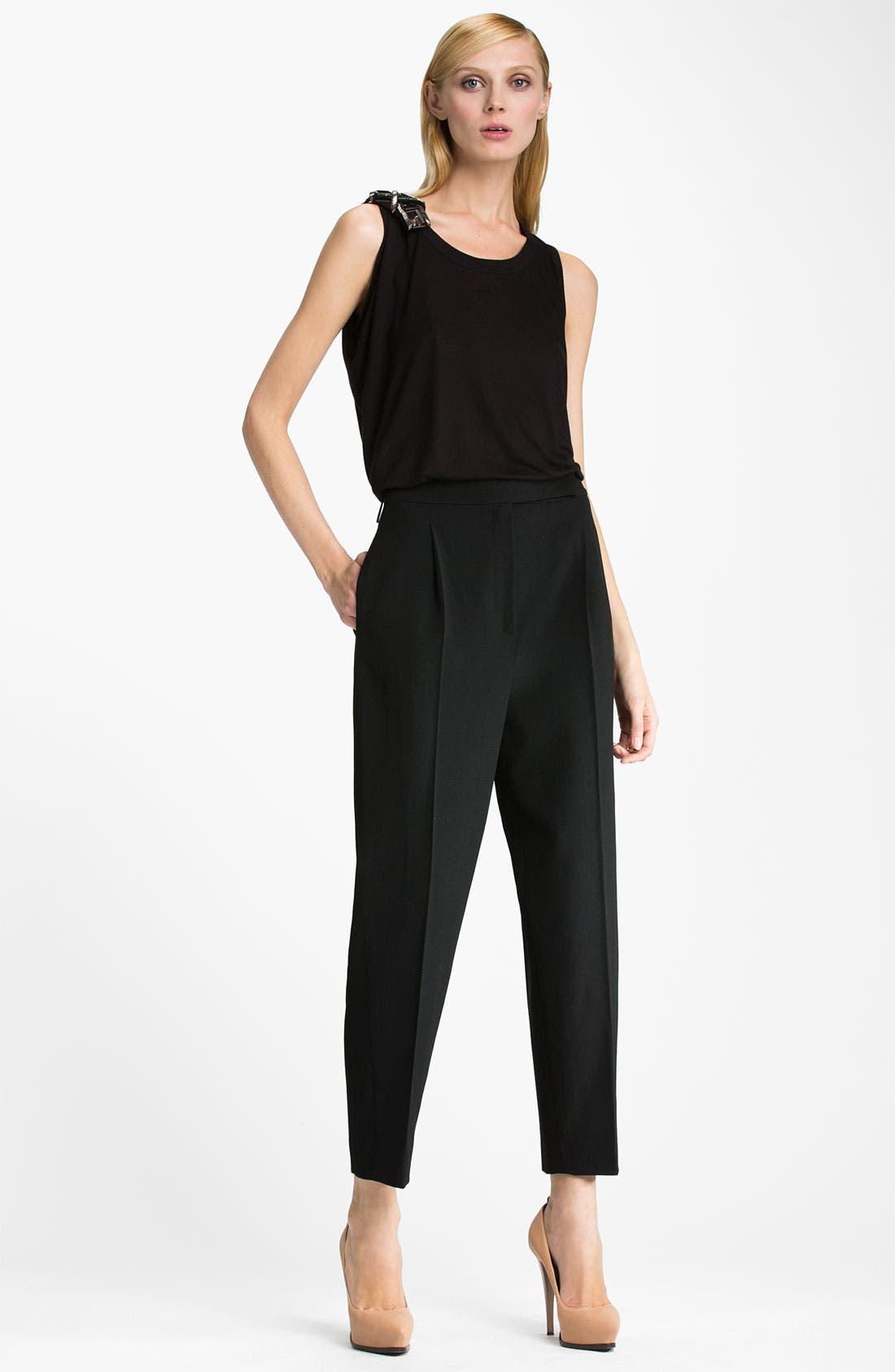 Alternate Image 4  - Lanvin Wool Crepe Crop Pants