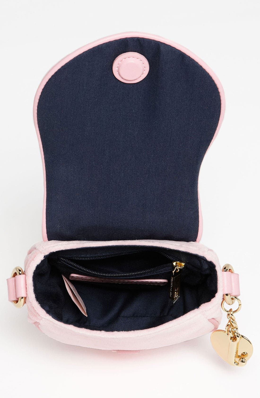 Alternate Image 3  - Juicy Couture Velour Crossbody Bag (Girls)