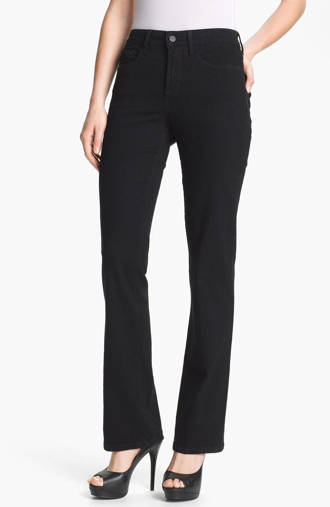Alternate Image 1 Selected - NYDJ 'Barbara' Embellished Bootcut Stretch Jeans