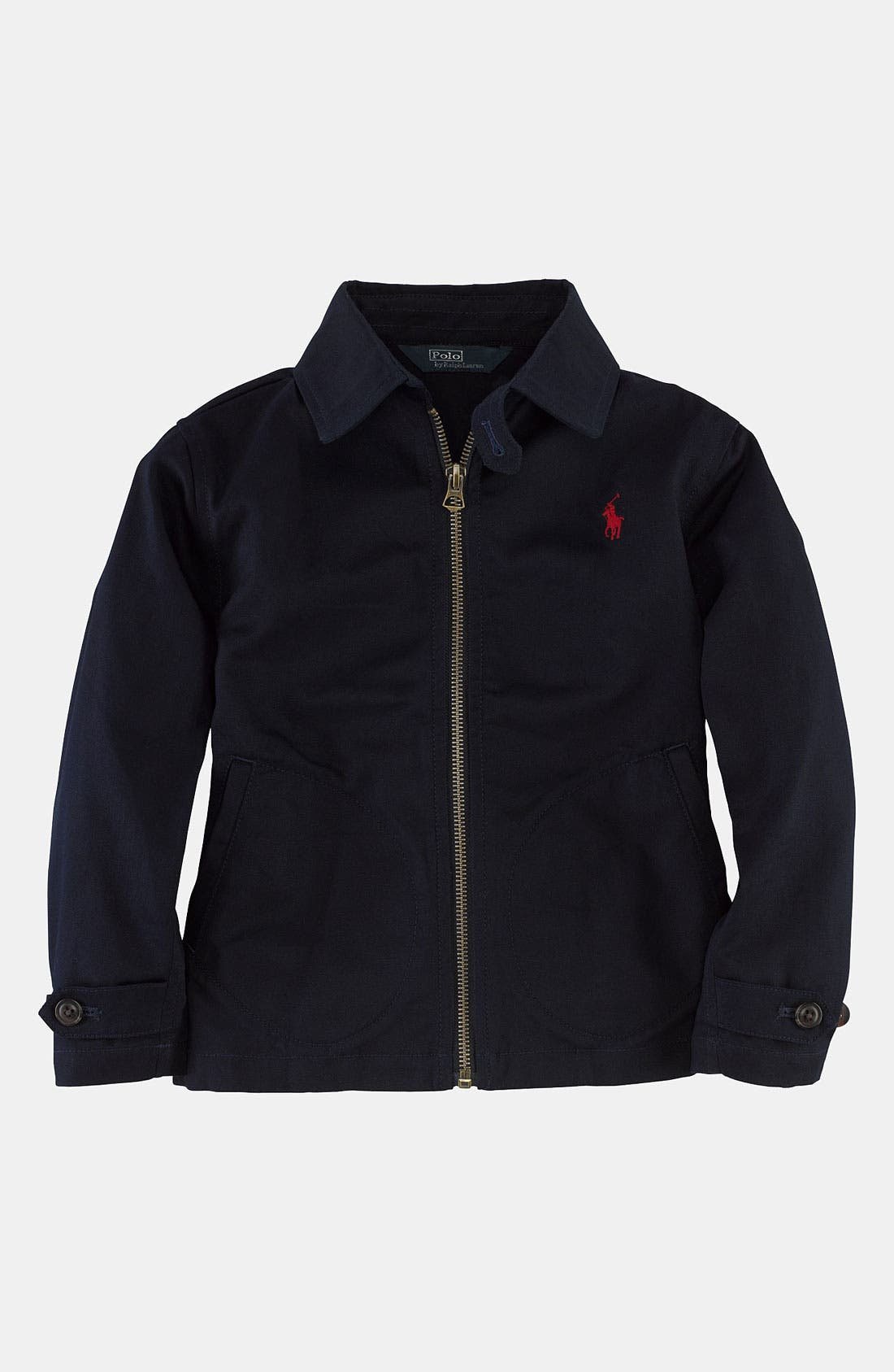 Alternate Image 1 Selected - Ralph Lauren Jacket (Toddler)