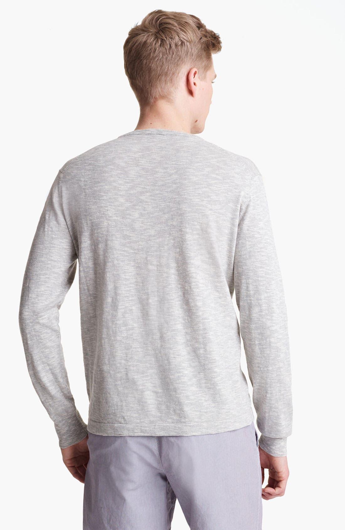 Alternate Image 2  - Save Khaki Slub Knit Sweater