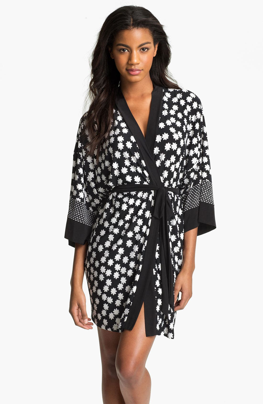 Main Image - In Bloom by Jonquil 'Boho Stripe' Short Robe