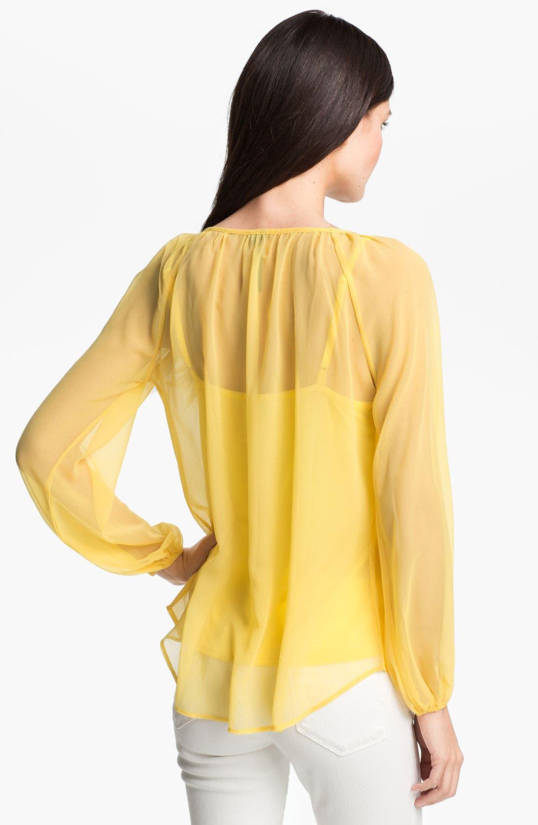 Alternate Image 2  - Kay Celine Beaded Tunic with Camisole