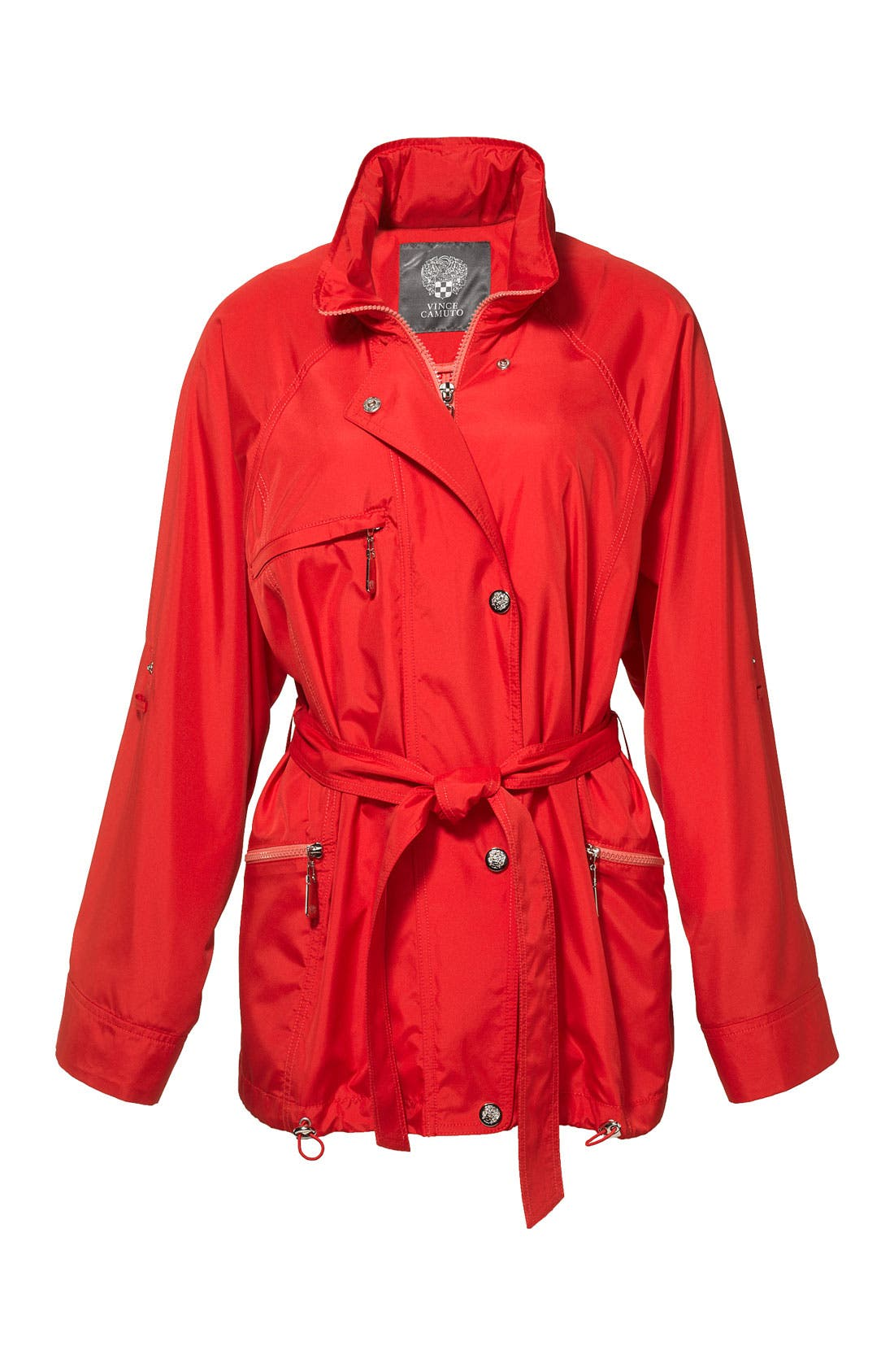 Alternate Image 5  - Vince Camuto 'Scarlet' Roll Sleeve Jacket (Regular & Petite)