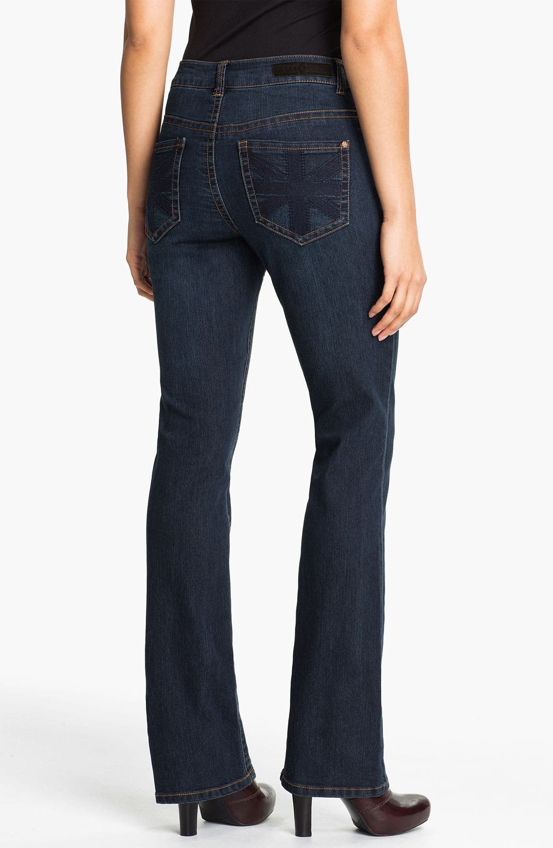 Alternate Image 2  - Liverpool Jeans Company 'Lucy - Brit' Bootcut Stretch Jeans (Petite)