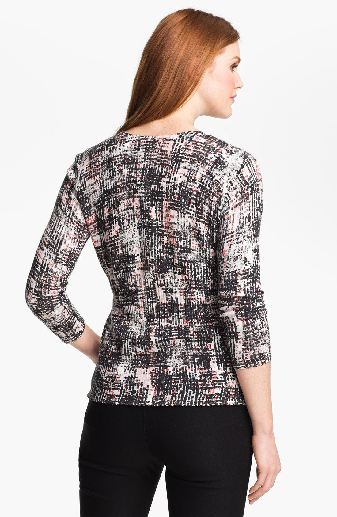 Alternate Image 2  - Nic + Zoe 'This and That' Reversible Cardigan