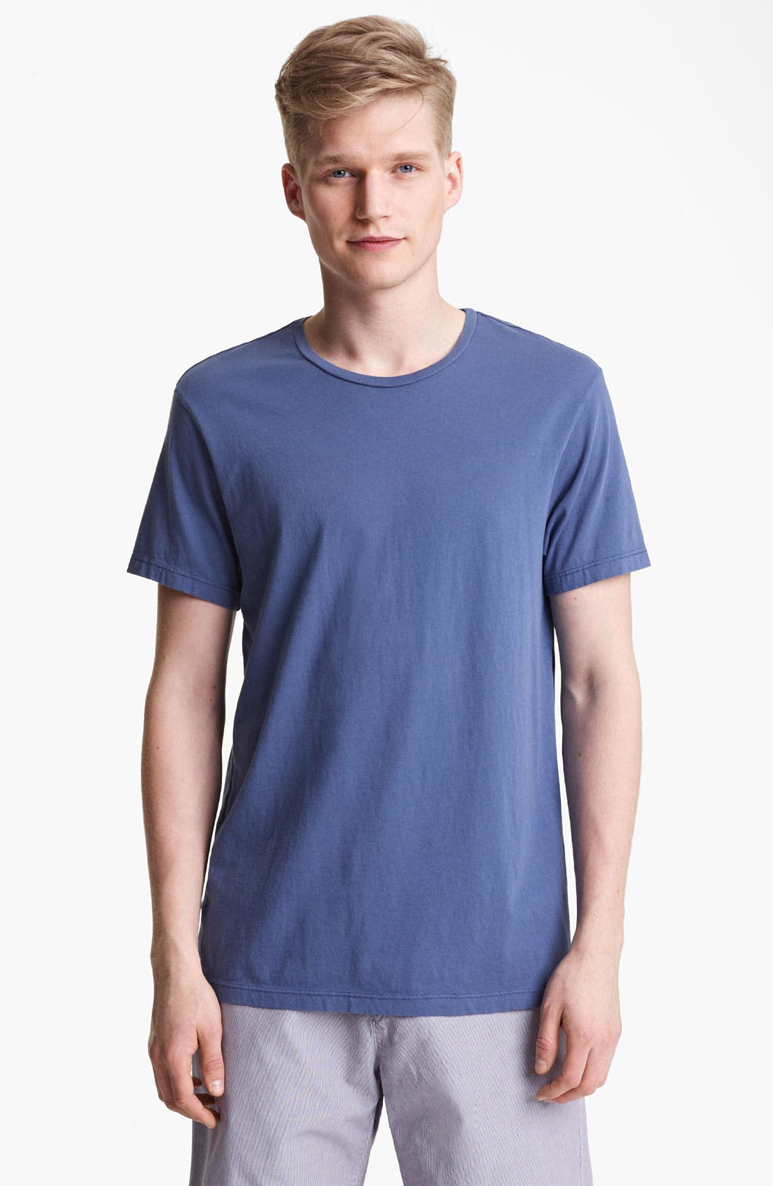 Alternate Image 1 Selected - Save Khaki Crewneck T-Shirt