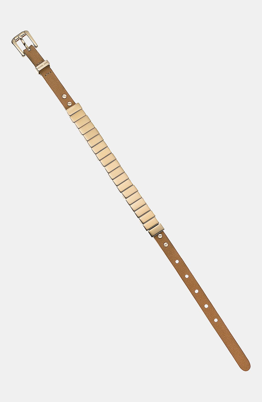 Alternate Image 1 Selected - Michael Kors 'Darrington' Leather Bracelet