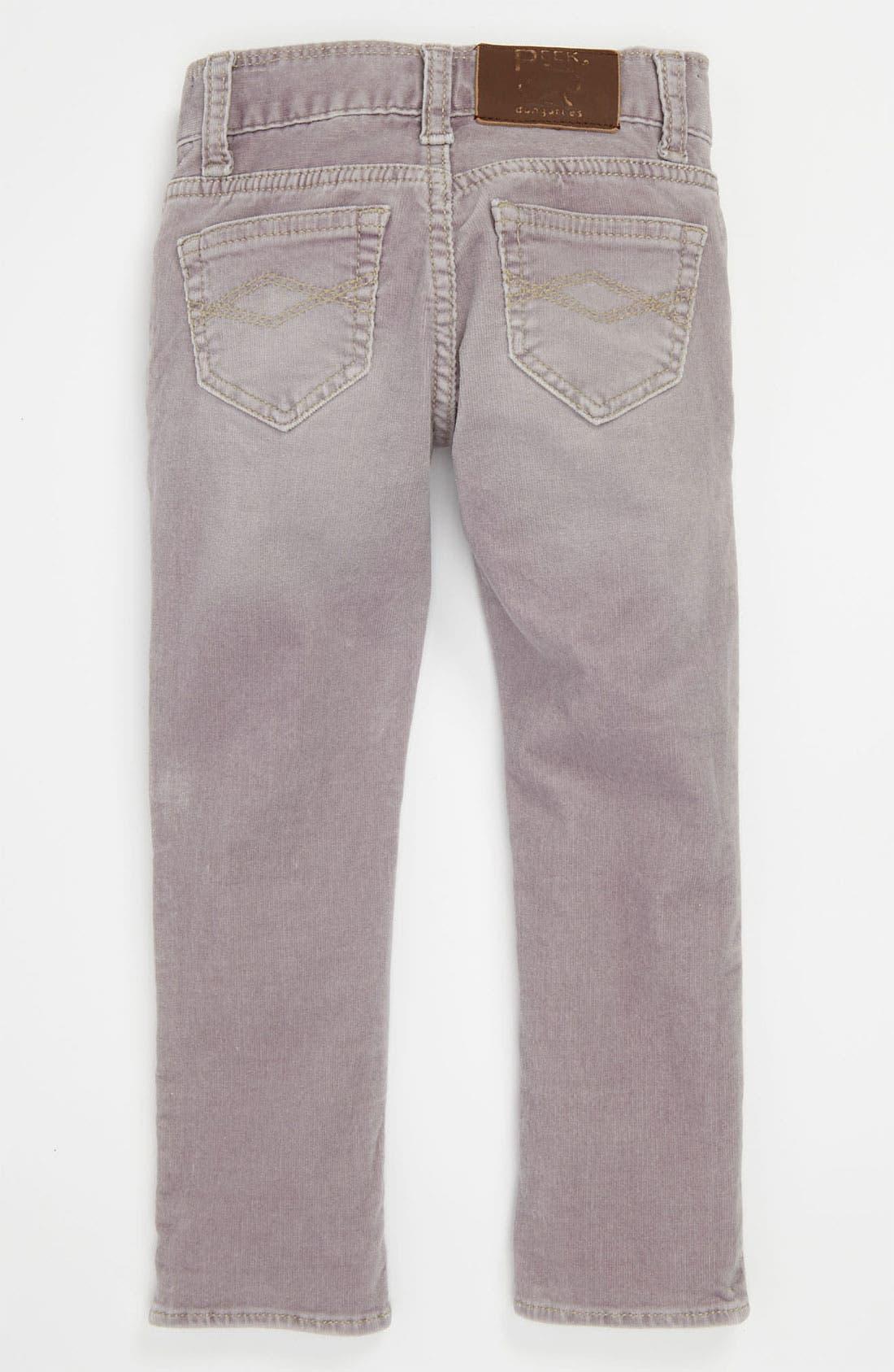 Alternate Image 1 Selected - Peek 'Kate' Corduroy Pants (Toddler, Little Girls & Big Girls)