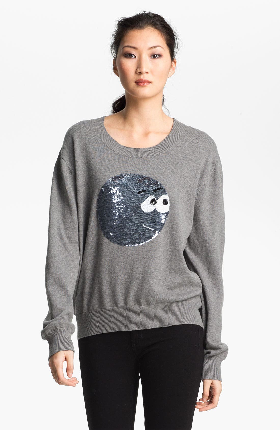 Alternate Image 2  - Markus Lupfer Sequin Cartoon Face Sweater