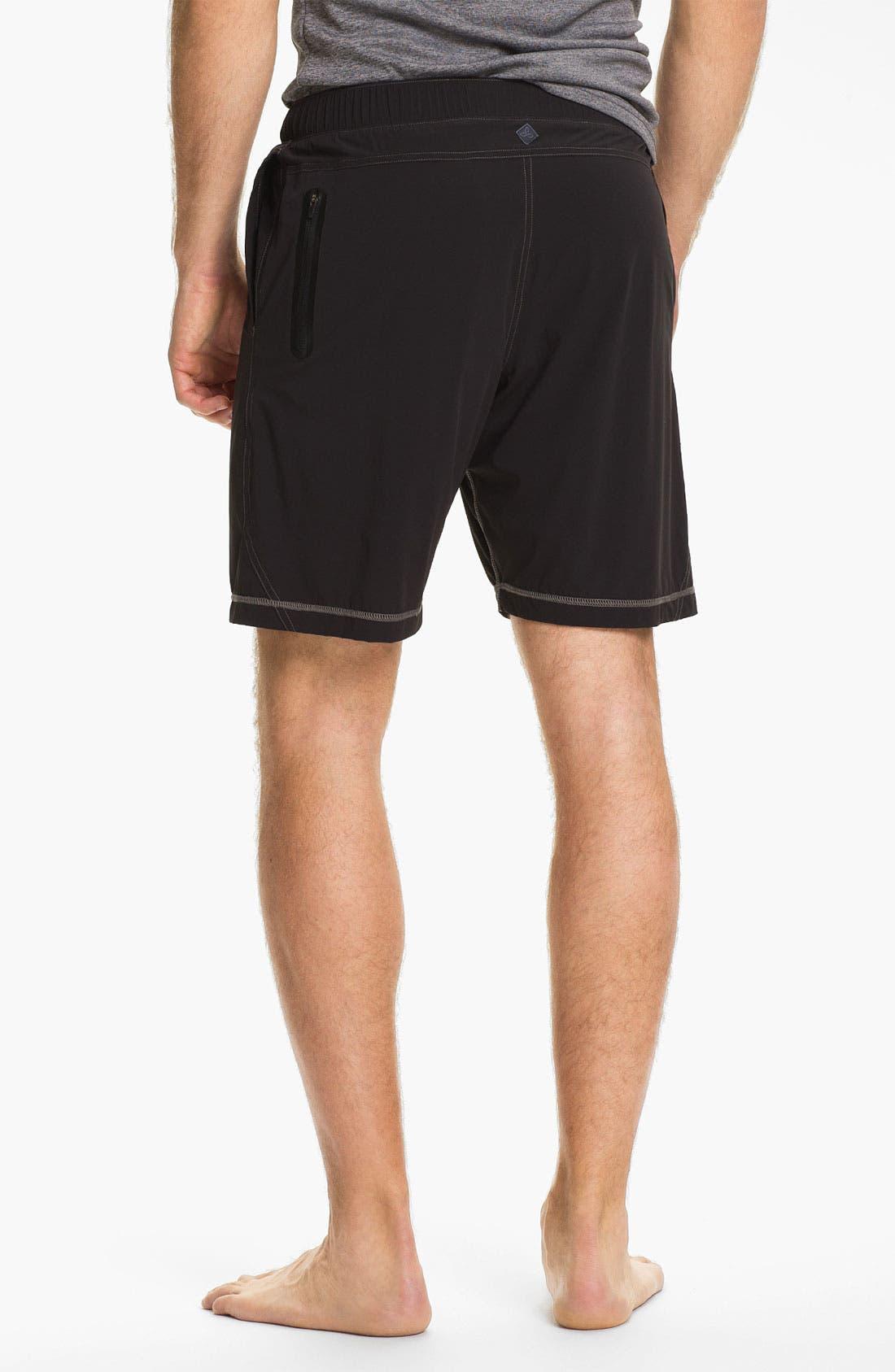 Alternate Image 2  - prAna 'Transit' Stretch Woven Water Resistant Shorts