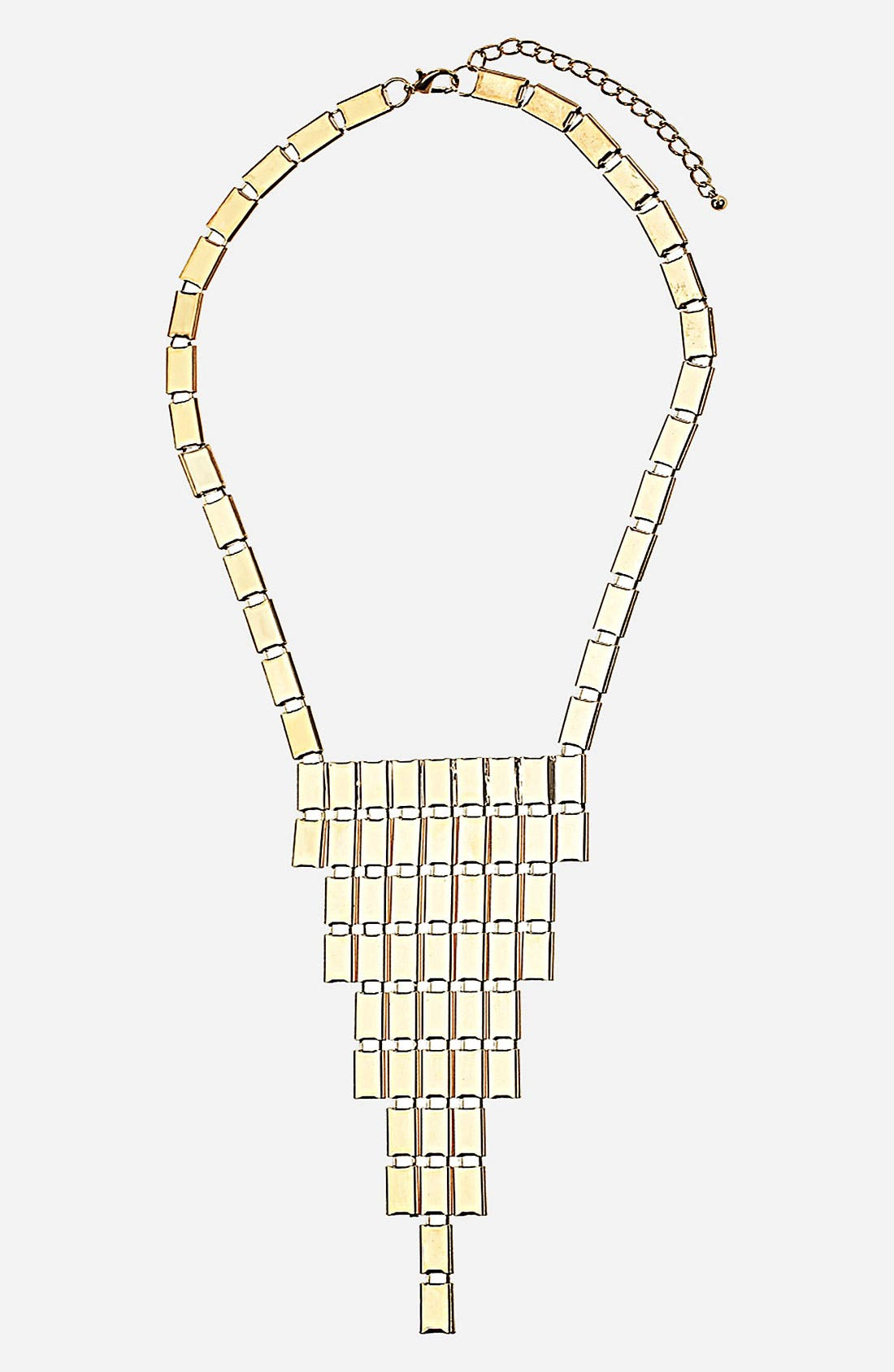 Main Image - Topshop 'Small Rectangle' Collar Necklace