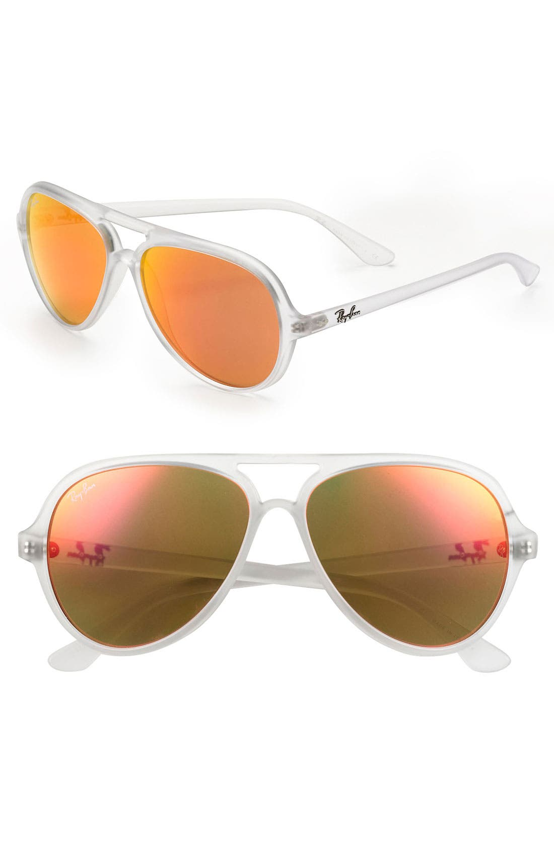 Alternate Image 1 Selected - Ray-Ban 59mm Aviator Sunglasses