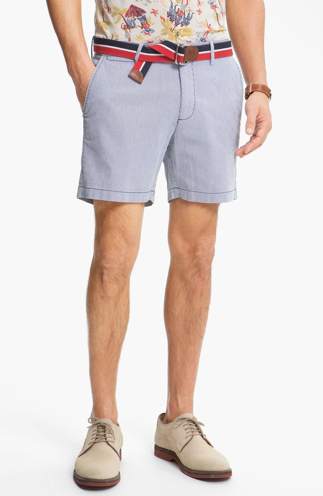 Main Image - Original Penguin Stripe Pincord Shorts