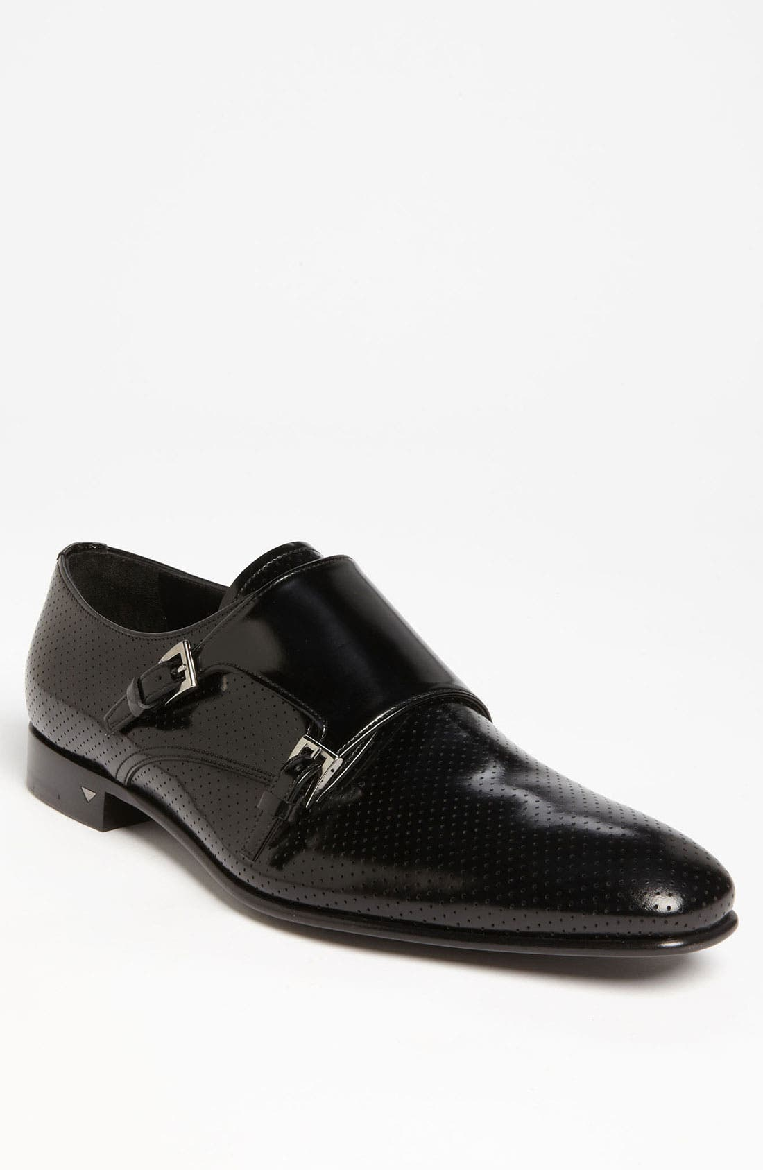 Alternate Image 1 Selected - Prada Perforated Double Monk Strap Slip-On