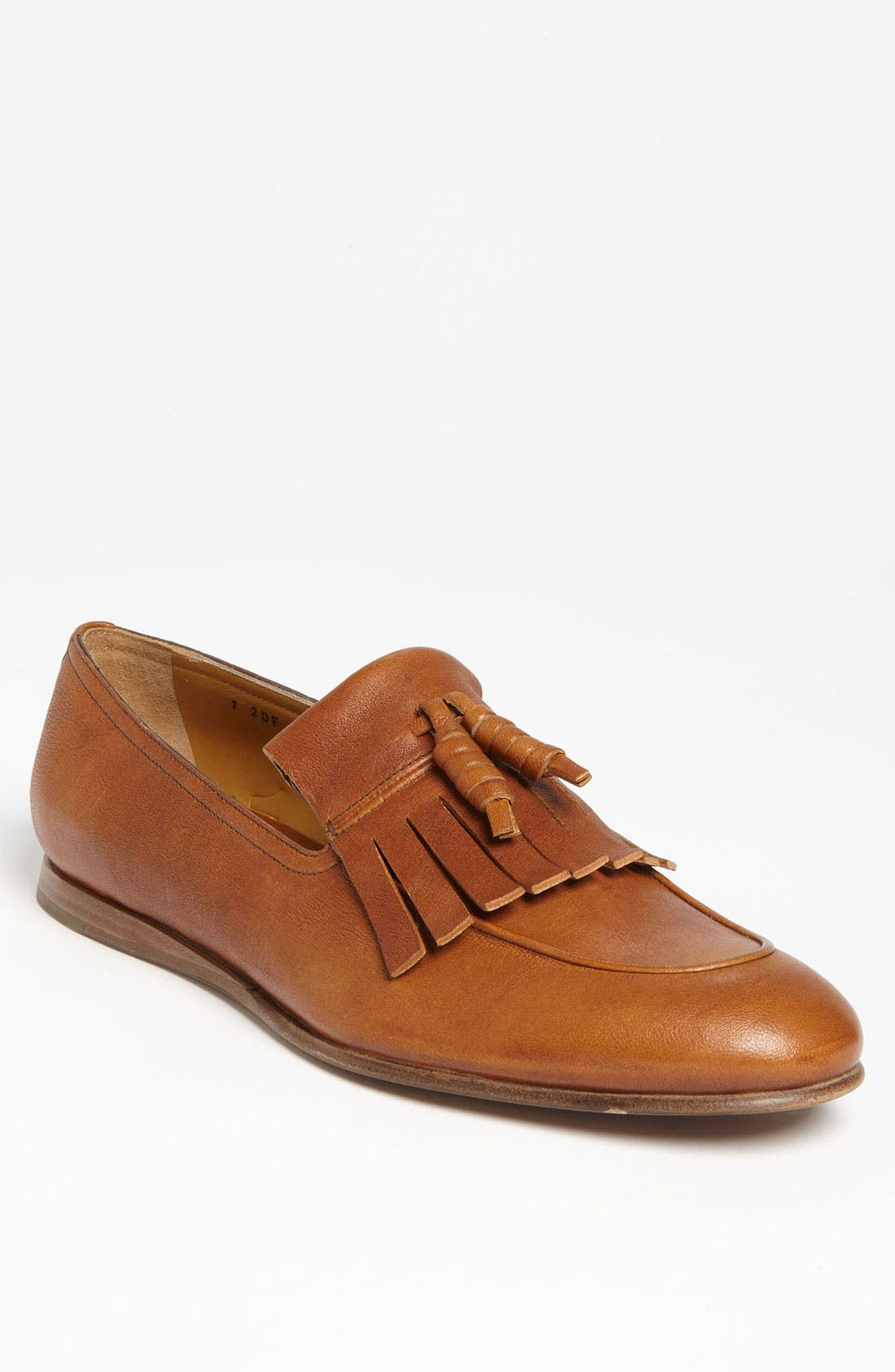 Alternate Image 1 Selected - Prada Kiltie Loafer